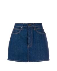Calvin Klein Jeans Brooke Shields Panel Rinse Mini Skirt