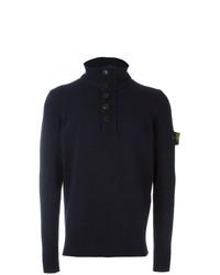 Stone Island Half Button Sweater