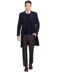 Brooks Brothers Own Make Navy Chesterfield