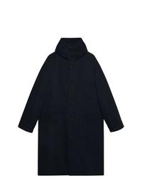 Gucci Felt Coat With Hood