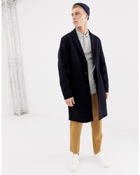 Selected Homme Hand Stitched Wool Overcoat