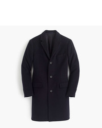 J.Crew Ludlow Topcoat In Italian Wool Cashmere With Thinsulate