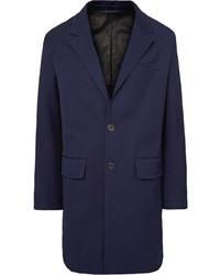 Ami Stretch Cotton Drill Overcoat