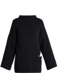 Stella McCartney Oversized Wool And Silk Blend Sweater