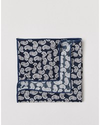 Selected Homme Paisley Pocket Square
