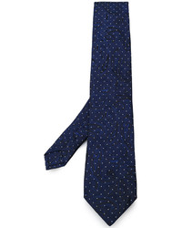 Etro Paisley Pattern Dotted Tie