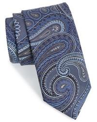 John W. Nordstrom Beasley Pine Paisley Silk Tie