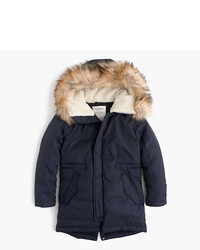J.Crew Boys Fishtail Parka
