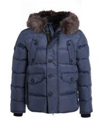 Superdry Chinook Winter Jacket Navy