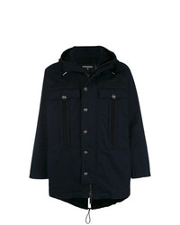 DSQUARED2 Embossed Button Parka