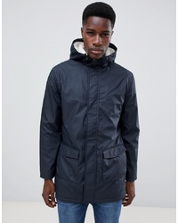 French Connection Fishtail Hooded Parka With Borg Lining