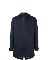 Save The Duck Hooded Coat Blue