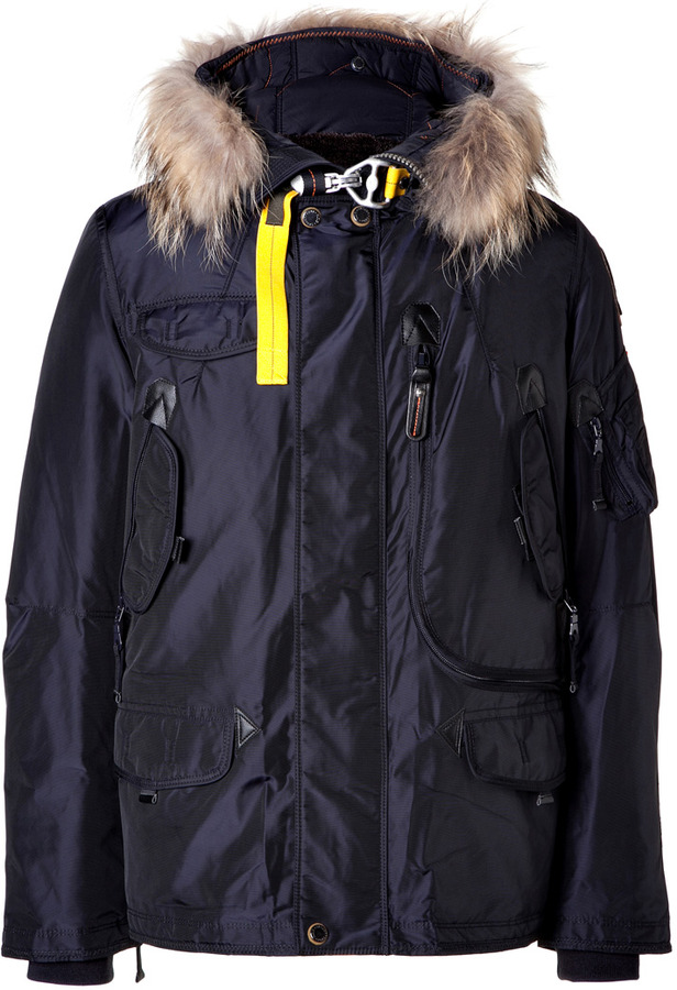 ... Parajumpers Right Hand Down Parka In Navy
