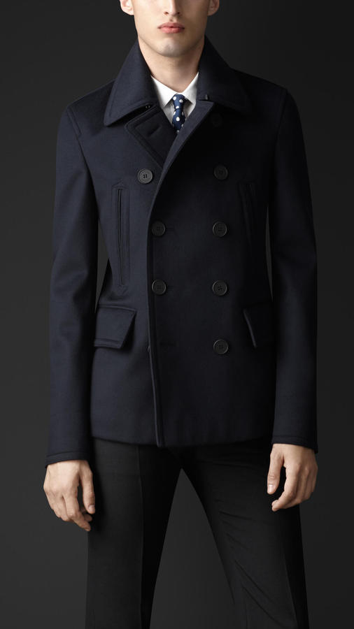 Burberry Cashmere Pea Coat | Where to buy & how to wear