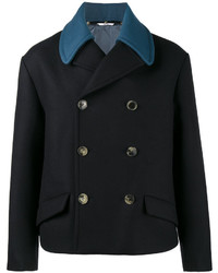 Valentino Double Breasted Peacoat