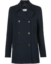 Maison Margiela Inverted Pleat Peacoat