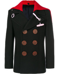 Givenchy Removable Collar Short Peacoat