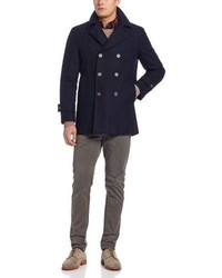 Tommy Hilfiger Brady Double Breasted Peacoat