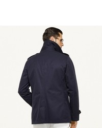 Ralph Lauren Black Label Twill Pea Coat