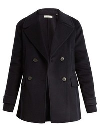 Vince Wool And Cashmere Blend Pea Coat