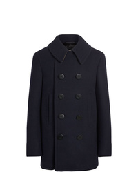 Burberry Wool Blend Pea Coat