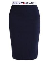 Tommy jeans 90s pencil skirt dark blue medium 3905040