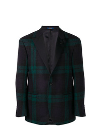 Polo Ralph Lauren Single Breasted Plaid Blazer