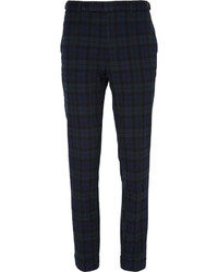 Beams Plus Checked Cotton Trousers