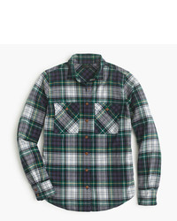 J.Crew Boyfriend Shirt In Ridge Plaid