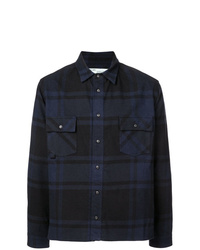 Off-White Checked Arrow Print Shirt