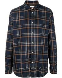 PS Paul Smith Checked Print Long Sleeve Shirt