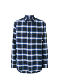 Marcelo Burlon County of Milan Parrot Plaid Flannel Shirt