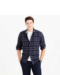 6d347c29fda36 ... J.Crew Wallace Barnes Heavyweight Flannel In Lenox Plaid ...
