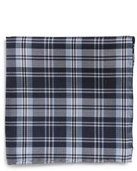 The Tie Bar Plaid Silk Pocket Square