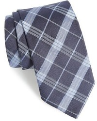 Plaid silk tie medium 951000