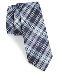 The Tie Bar Plaid Silk Tie