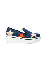 Stella McCartney Star Binx Denim Loafers