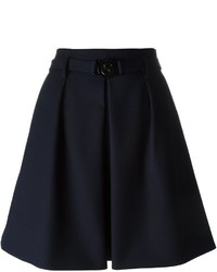 Kenzo Pleated Skater Skirt