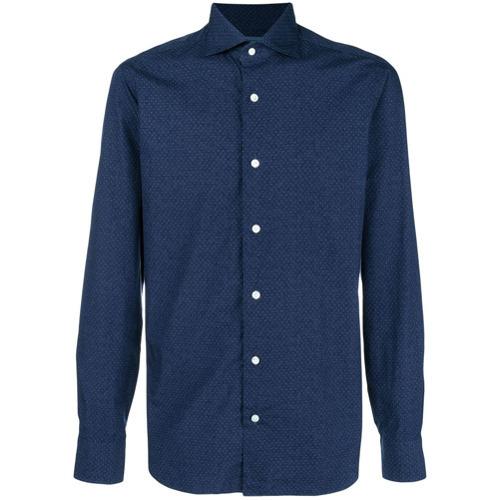 Barba Micro Polka Dot Shirt