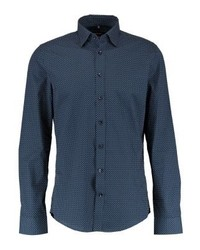 Seidensticker Slim Covered Shirt Blau