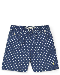 Polo Ralph Lauren Mid Length Polka Dot Swim Shorts Out of stock ...