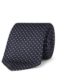 Turnbull & Asser 8cm Polka Dot Silk Tie