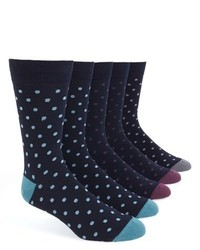 Topman Polka Dot Socks