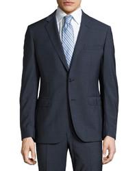 Navy Polka Dot Suit