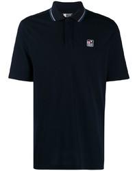 Z Zegna Contrast Trim Polo Shirt