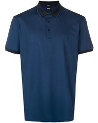 BOSS HUGO BOSS Contrast Trimmed Polo Shirt