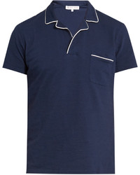 Orlebar Brown Donal Cotton Piqu Polo Shirt