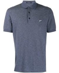 Ermenegildo Zegna Logo Embroidered Polo Shirt