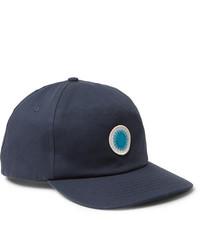 Mollusk Appliqud Cotton Twill Baseball Cap