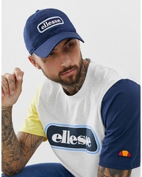 Ellesse Jallon Baseball Cap Logo In Navy
